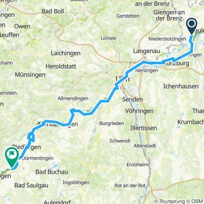 30) 2012: Wien- Donaueschingen 6. Etappe