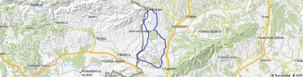 Zaprešić-Dubravica-Klanjec-Luka-Zaprešić