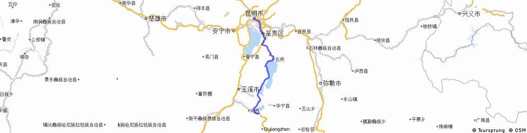 tonghai chengjiang kunming