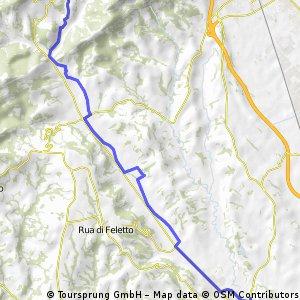 2012_08_02 Tarzo- I° tratto notturna (andata)