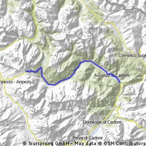 Auronzo-Passo Tre Croci-Auronzo