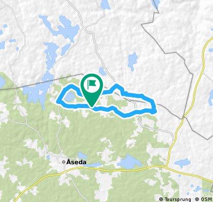 Laufstrecke Schweden