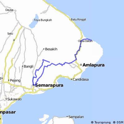 Selat - Semapura - Tirtagangga - Jeluk