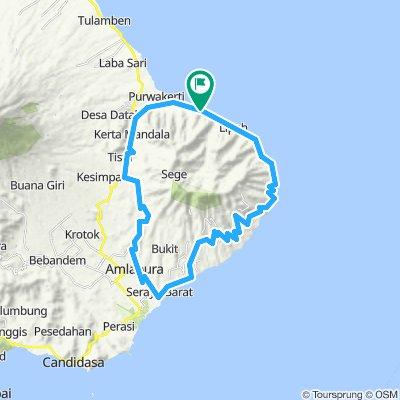 Mt. Seraya Tour