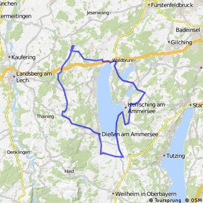 Erweitere Ammerseerunde ab Geltendorf