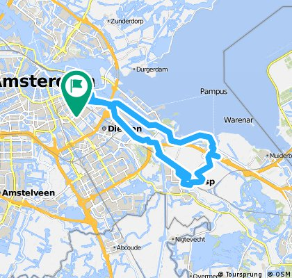 Amsterdam to Weesp