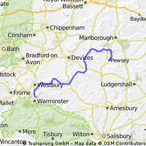 Warminster to Pewsey