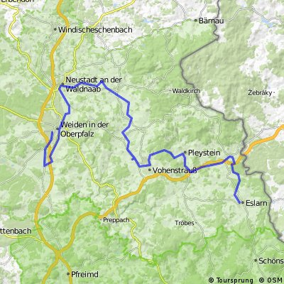 ADFC-Hof: Tour auf dem Bockelradweg
