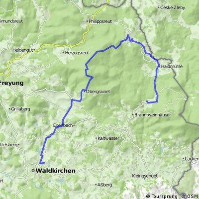 pollmannsdorf über haidel und haidmühle