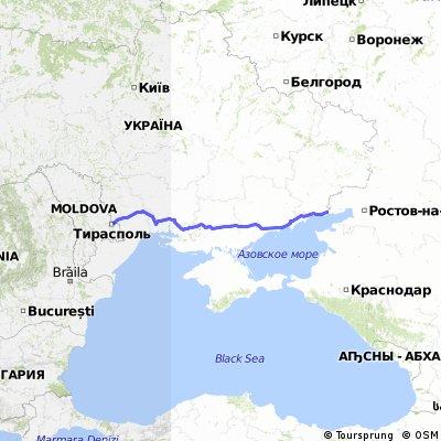 Молдова-Україна -Росія