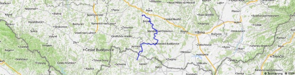 Jihlava - Třebíč - Raabs