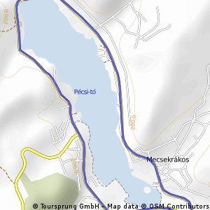 Tour de Pécs 2011.  XI.  CSOFÉM Nagydíj- Orfű 2011. 09.18. CLONED FROM ROUTE 1068858
