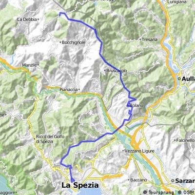 La Spezia - Passo dei Casoni