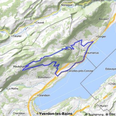 Jura / Consise Rund/ 45 Km