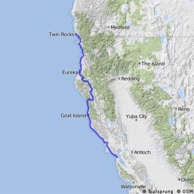 Draft: Brookings to SF