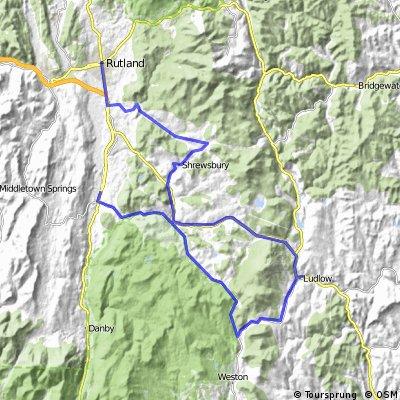 Le Vermont à vélo, jour 2