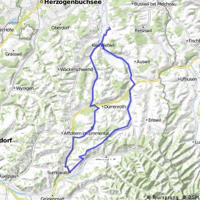 Madiswil, Dürrenroth, Sumiswald, Wyssachen