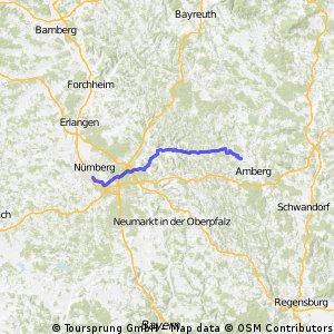 Nürnberg Süd nach Poppenricht