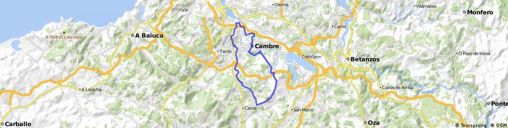 1º etapa camino santiago-carral