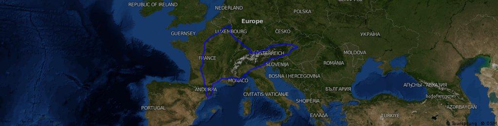slovakia-hungary-austria-italy-monaco-france-spain-france-belgium-luxemburg-liechtenstein-austria-slovakia