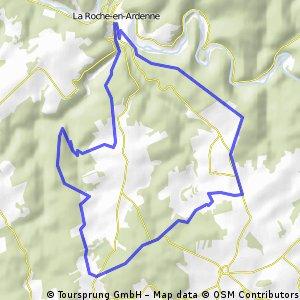 La Roche-en-Ardenne blue