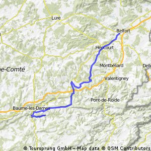 2012 French Tour -- Ride Day 29 -- 13 September 2012 -- Bavilliers (Belfort) to Val de Cusance