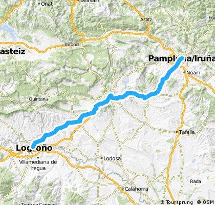 Camino de Santiago 2/10 Pamplona - Logrono