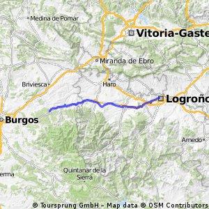 Camino de Santiago 3/10 Logrono - Villafranca Montes de Oca