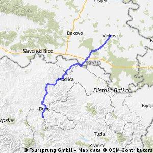 23. Tag: Makljenovac (Doboj) - Vinkovci