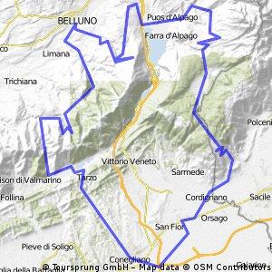 Conegliano,Cansiglio, Nevgal, Valmorel CLONED FROM ROUTE 920569