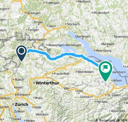 Tour-de-SuisseTeil 2 Dachsen-Romanshorn