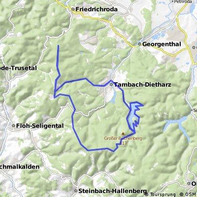 Spießberghaus - Schmalwassertalsperre