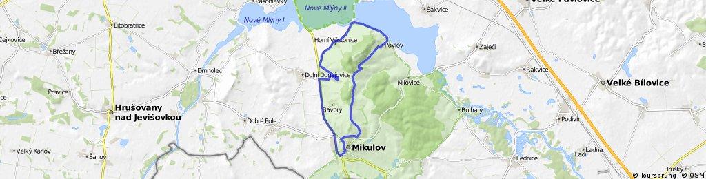 Perna-Mikulov-Klentnice-Pavlov-Vestonice-Perna