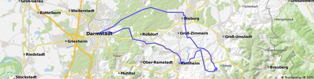Darmstadt - Otzberg