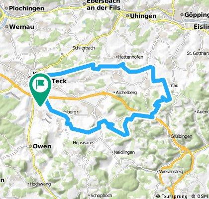 Kirchheim-Aichelberg-Runde