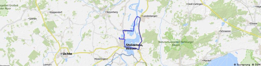 Stolzenau - Landesbergen - Leese - Stolzenau