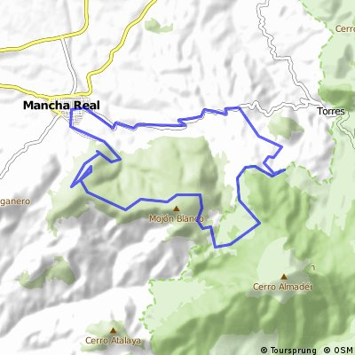 Mancha Real - Mojon Blanco - La Mesa - Fuente Navaparis - Mancha Real