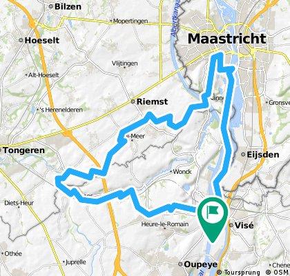 Vise Tongres Maastricht un dimanche après midi