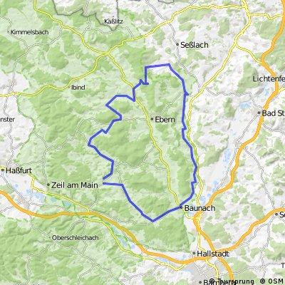 Breitbrunn-Lichtenstein-Untermerzbach-Lautertal