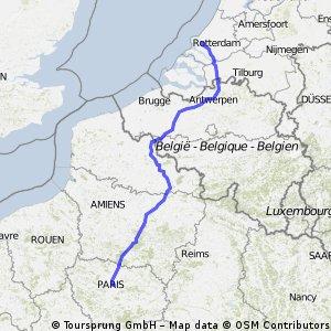 Rotterdam to Paris 2013