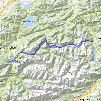 Massiv Alp 2: Achenkirchen-Mittenwald