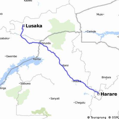 Lusaka - Harare