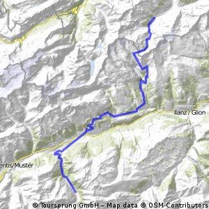 Massiv Alp 8: Elm- Val Tenigia