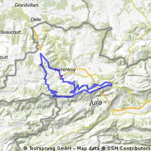 VTT Itinéraire 706 bis (63 km) CLONED FROM ROUTE 1838100