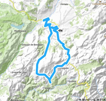 Ronda 53km ( sud)