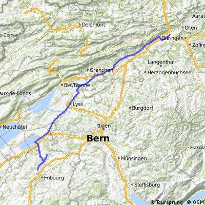 3. Etappe: Kappel - Barbareche