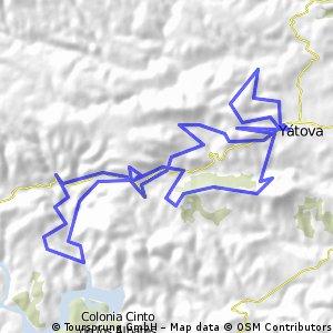 ruta de sendas por yatova