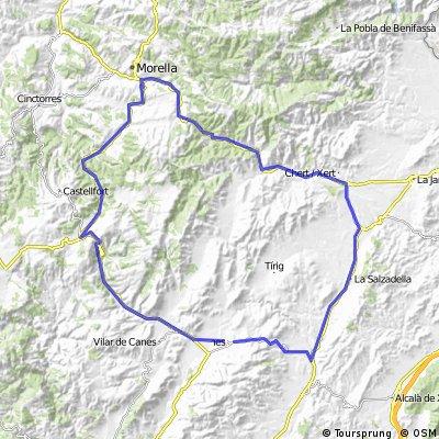 Albocaser-Ares-Morella-Sant Mateu