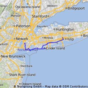 Brooklyn to Bay Shore