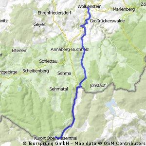 Fichtelberg Wolkenstein